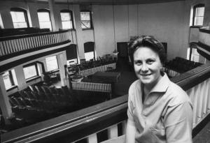 Harper Lee, Monroeville county courthouse, 1961